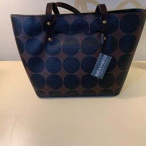 Brahmin brand new tote with tags